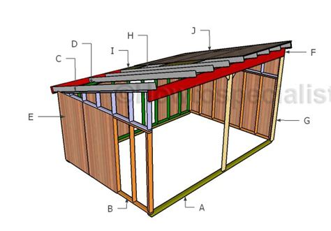 run  shed plans howtospecialist   build
