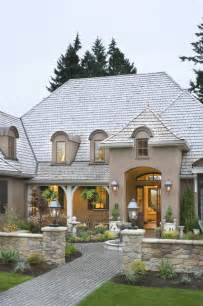 country exterior french country elegance traditional exterior portland by alan mascord design associates inc