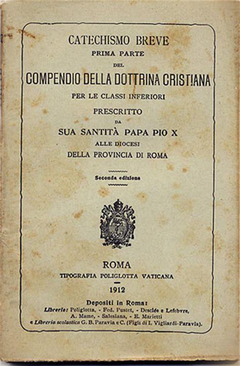 codice napoleonico testo catechismo san pio x www maranatha it