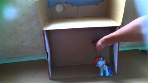 how to make a simple house for a mlp figure easy