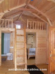 Log Cabin Kitchen Cabinets by Amish Made Cabins Amish Made Cabins Cabin Kits Log