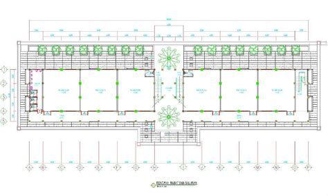 contoh denah ruang kelas sd desain sekolah sma 1 longkali kab paser kalimantan timur