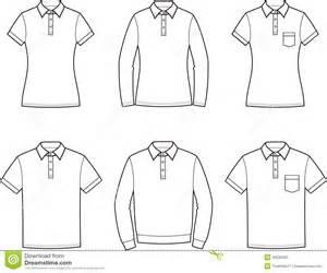 polo t shirt stock vector image 49536265