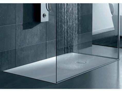piatti doccia in corian piatto doccia filo pavimento rettangolare in corian