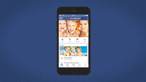 facebook mobile intro final cut pro x template