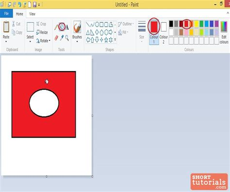 paint tool fill with color in ms paint windows 8