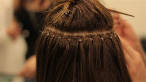 beaded extensions hair extensions diminishing the difference between the
