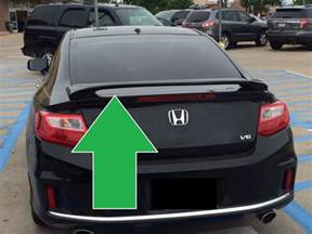 Honda Accord Coupe Spoiler For Honda Accord Coupe Painted Custom Rear Spoiler Wing