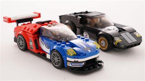 lego ford lego les ford gt et gt40 des 24 heures du mans