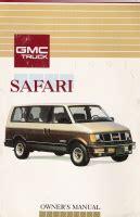 car maintenance manuals 1995 gmc safari auto manual 1991 gmc safari owner s manual