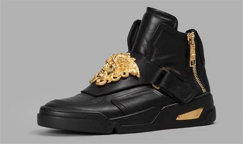 mens versace sneakers new versace high top sneakers collection fw15 16 preview