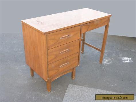 modern solid wood desk vintage mid century modern style four drawer solid