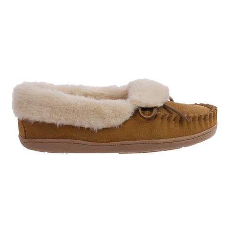 trapper slippers minnetonka tracy folded trapper slippers for
