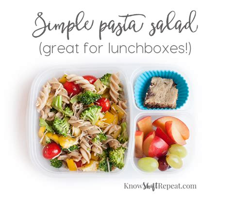 simple pasta salad simple pasta salad great for lunchboxes shift