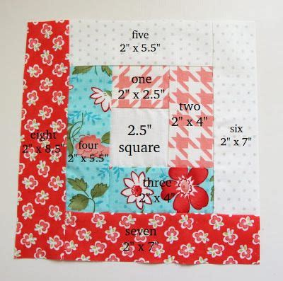 quilting cake tutorial notes of sincerity layer cake log cabin blocks