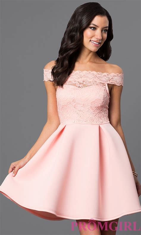 dresses by the shoulder homecoming dress promgirl