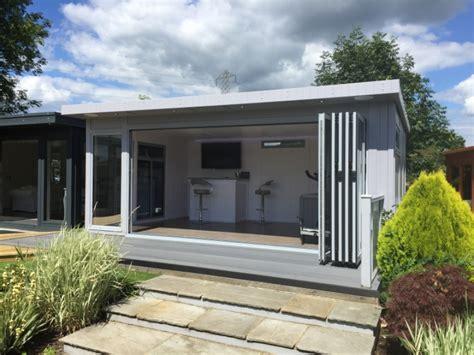 Garden Room Doors by Bakers Timber Buildings Bi Fold Executive Summer House