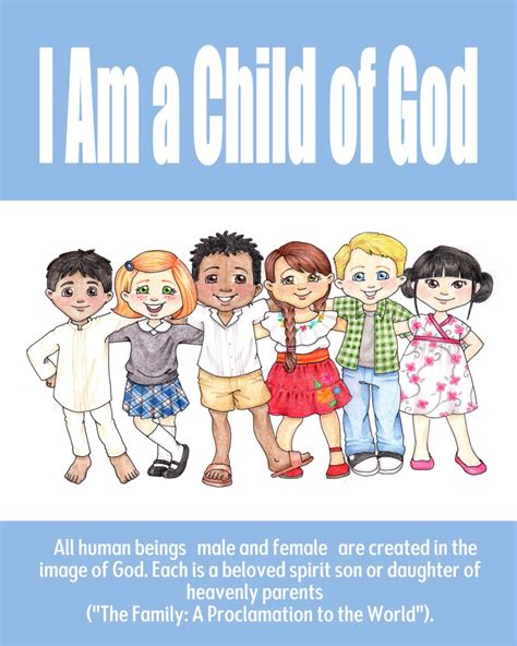 themes in god help the child theme posters i am a child of god the idea door