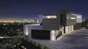 Modern Home Overlooking City Interior Design Ideas