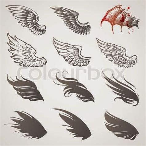 cartoon wing tattoo los mejores tatuajes de alas belagoria la web de los