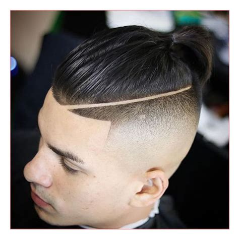 hair styles for men with line shaved asian mens haircut together with haircut with line high