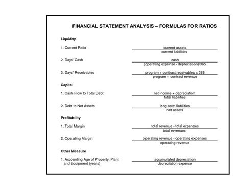 financial ratios analysis best 25 financial ratio ideas on accounting
