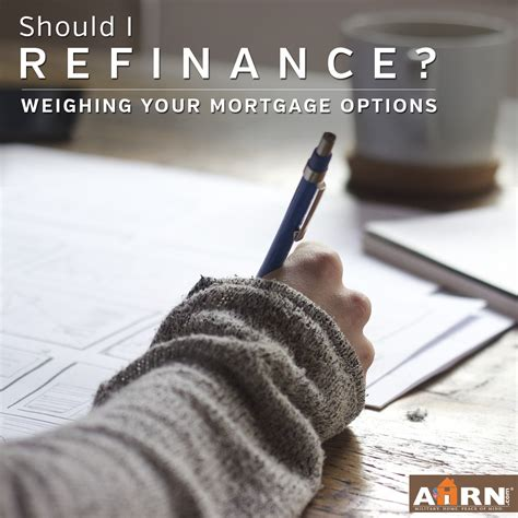 should i refinance my home ahrn