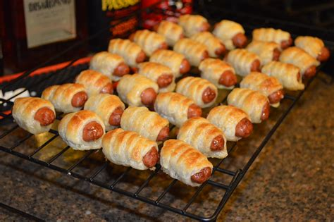 frozen hot dogs for pigs in a blanket puff pastry wrapped smokies pigs in a blanket minty pig