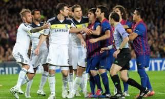 chelsea zone barcelona v chelsea match zone midfield trio frustrate