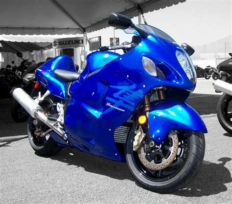 Blue Suzuki Suzuki Hayabusa Review And Photos