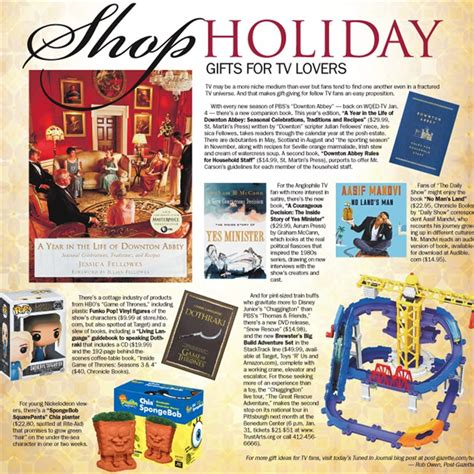 shop holiday gift suggestions for tv lovers pittsburgh