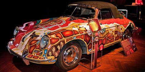 star cars janis joplins  porsche    garage