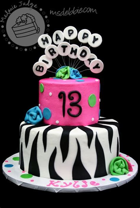 birthday themes 13 year olds this cake is a perfect exle of a typical 13 year old s