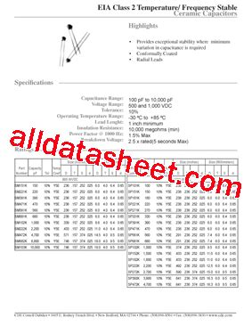 103 capacitor data sheet sm103k データシート pdf cornell dubilier electronics