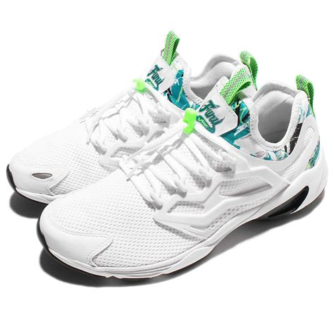 status shoes reebok status fury adapt ar white green limited