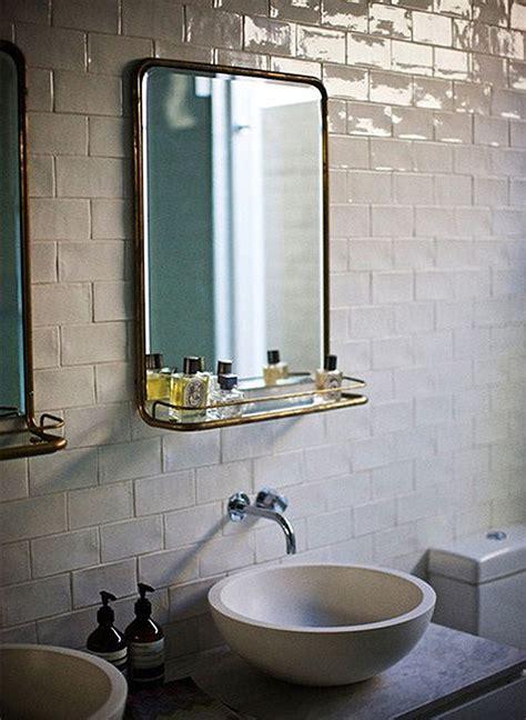 Deco Salle De Bain Retro 1704 by Great Bathroom With Mirror Bathrooms Mur