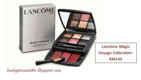 Mata Lancome lovely presents 4 u lancome magic voyage collection