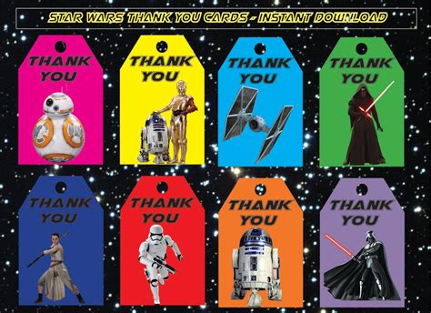 wars tags instant dl wars thank you tags the awakens
