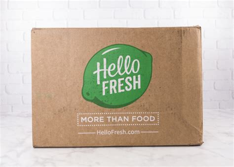 Promo Hello Family Home august 2017 hello fresh subscription box review coupon family box hello subscription
