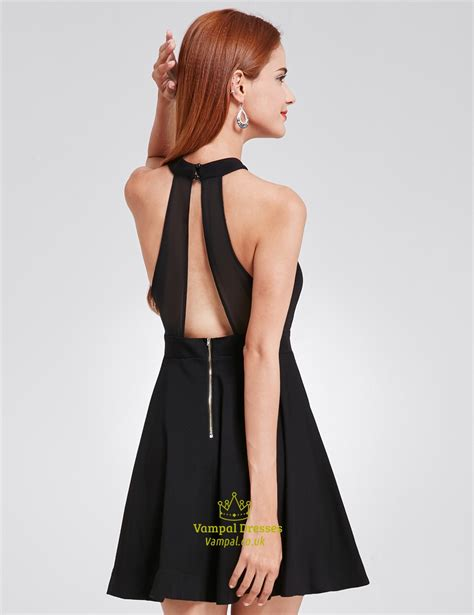 Front Simple Dress simple a line sleeveless black dress with keyhole front val dresses