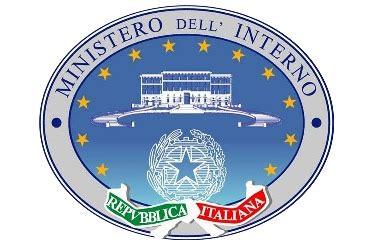 ministro degli interni italia ministero degli interni
