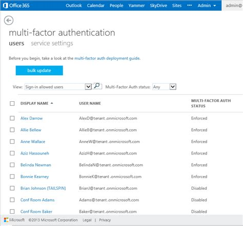 Office 365 Two Factor Authentication Multi Factor Authentication For Office 365 Office Blogs