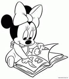 baby minnie mouse coloring pages free minnie mouse as a baby coloring pages