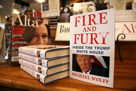 and fury inside the white house books these had disturbing reactions to the book