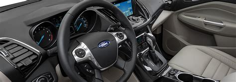 ford escape 2016 interior 2016 ford escape vs 2016 ford edge