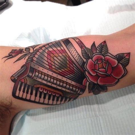 accordion tattoo accordion on a fellow englishman matthouston gastown