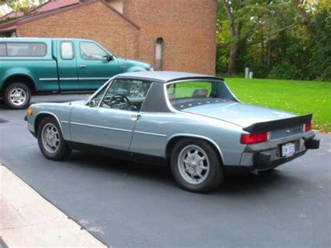 new porsche 914 sell new 1974 porsche 914 2 0 marathon blue in troy