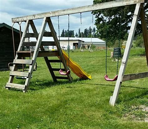 swing set toronto swing n slide large wooden swing set saanich victoria