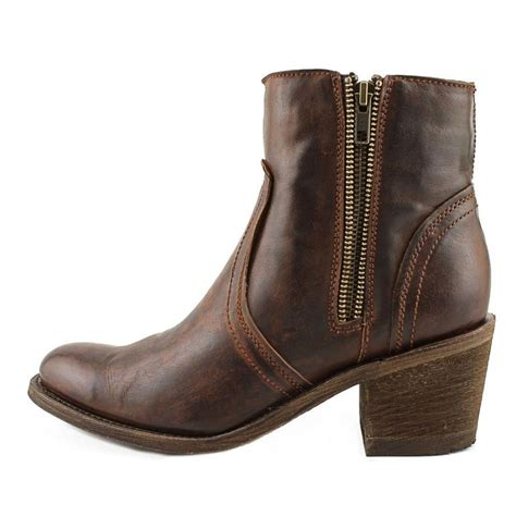 corral e1159 distressed leather brown ankle boot boots