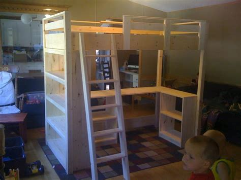 how to build a loft bed for kids diy how to build a loft bed diy plans free